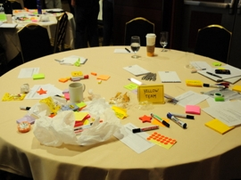 facilitation graphique et visuel - brainstorming